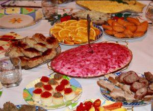 cena capodanno russo tipica